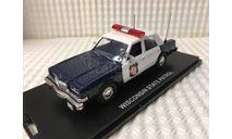 Dodge Diplomat Wisconsin State Patrol, масштабная модель, First Response, 1:43, 1/43