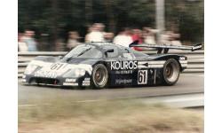Ограниченным тиражом HPI 1:43 C9 #8054 Mercedes Sauber C9 (#62) 1987 Le Mans, масштабная модель, 1/43