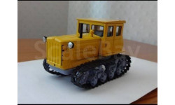 Трактор ДТ-54, масштабная модель трактора, 1:43, 1/43, Тракторы. История, люди, машины. (Hachette collections)