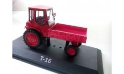 Трактор Т-16, масштабная модель трактора, 1:43, 1/43, Тракторы. История, люди, машины. (Hachette collections)