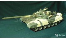 Танк Т-72 радиоуправляемая модель, сборные модели бронетехники, танков, бтт, 1:16, 1/16, DeAgostini