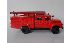 ЗиЛ-130 АЦ-30 пожарный, масштабная модель, 1:43, 1/43, Автоистория (АИСТ)
