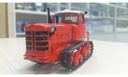 Трактор ДТ-75, масштабная модель трактора, 1:43, 1/43, Тракторы. История, люди, машины. (Hachette collections)