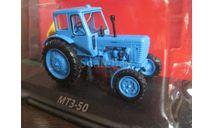 Трактор МТЗ-50, масштабная модель трактора, 1:43, 1/43, Тракторы. История, люди, машины. (Hachette collections)