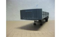 Полуприцеп МАЗ 9380-2 серый НАП