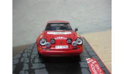 Porsche 911S (B.Waldegard-L.Helmer) IXO, масштабная модель, 1:43, 1/43