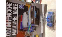 Ваз-2107, журнальная серия Полицейские машины мира (DeAgostini), Автомобиль на службе, журнал от Deagostini, scale43