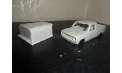 ВАЗ-2101 внутризаводской пикап с тентом, сборная модель автомобиля, 1:43, 1/43