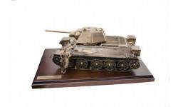 ДИОРАМА 'ТАНК Т-34/76' 1/16, масштабные модели бронетехники, Пятигорская бронза, scale35