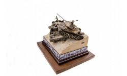 ДИОРАМА 'Т-34 ПРОТИВ ТИГРА' 1/35, масштабные модели бронетехники, Пятигорская бронза, 1:35