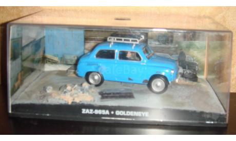 ЗАЗ 965А агент 007, масштабная модель, Universal Hobbies, scale43