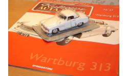 Wartburg Вартбург 313, масштабная модель, 1:43, 1/43, DeAgostini-Польша (Kultowe Auta)