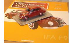 Ifa F9, масштабная модель, 1:43, 1/43, DeAgostini-Польша (Kultowe Auta)