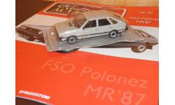 FSO Polonez MR87, масштабная модель, 1:43, 1/43, DeAgostini-Польша (Kultowe Auta)