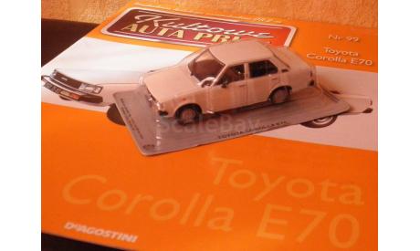 Toyota Corolla E70 Kultowe Auta PRLu, масштабная модель, 1:43, 1/43, DeAgostini-Польша (Kultowe Auta)