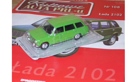 ВАЗ 2102 Kultowe Auta PRLu, масштабная модель, 1:43, 1/43, DeAgostini-Польша (Kultowe Auta)