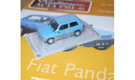 Fiat Panda Kultowe Auta PRLu, масштабная модель, 1:43, 1/43, DeAgostini-Польша (Kultowe Auta)