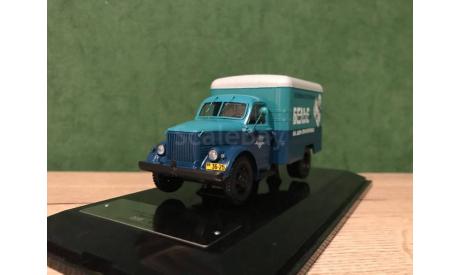ГАЗ-51А / КИ-51 фургон 'Прачечные', масштабная модель, DiP Models, scale43