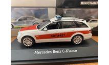 Mercedes-Benz C-Class W204 Notarzt (B66960330), Schuco, 1:43, масштабная модель, scale43