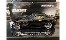 Mercedes-Benz AMG GT S Brabus, Minichamps, 1:43, масштабная модель, scale43