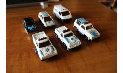 Маленькие Полицейские машинки 1/87 - 1/72 - 1/60, масштабная модель, 1:64, 1/64