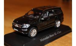 Mercedes GL 500 GL-Class Х166  2012 черный 1/43 Norev 351335