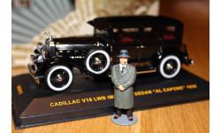 Аль Капоне Фигурка  Al Capone для модели Cadillac V16 LWB Imperial Sedan, фигурка, 1:43, 1/43, IXO Museum (серия MUS)