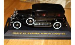 Cadillac V16 LWB Imperial Sedan Al Capone 1930, масштабная модель, scale43, IXO Museum (серия MUS)