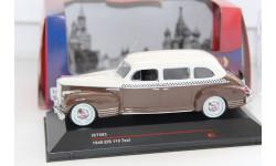 ЗИС 110 Такси (1948), коричневый / бежевый IST093