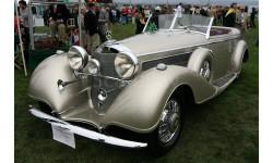 !!! Самая низкая ЦЕНА !!! Mercedes-Benz 540K Offener Tourenwagen Sindelfingen 1938, масштабная модель, GLM, 1:43, 1/43
