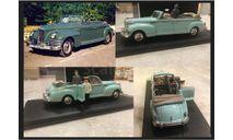 Зис 110 Б Фаэтон + 2 фигурки Н. Хрущев и И. Сталин 1950 СССР Kremlin vehicle 1/43, масштабная модель, DiP Models, 1:43