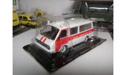 Модель РАФ 22031 'Скорая медицинская помощь'. Идеальное состояние., масштабная модель, Автомобиль на службе, журнал от Deagostini, scale43