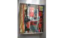 Коробка к масштабной модели автомобиля КамАЗ 43253. АЦ 3.2-40. Пожарный. АВД. AVD. Картон. 1:43., боксы, коробки, стеллажи для моделей, Агат/Моссар/Тантал