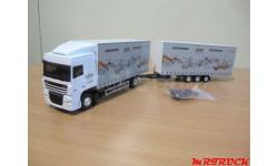 модель грузовика DAF XF105  Eligor