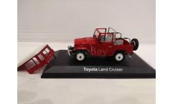 TOYOTA Land Cruiser BJ40 red (1974), 1:43, Norev