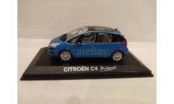 Citroen C4 Picasso 2013 Teles Blue, 1:43, Norev