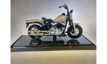 Мотоцикл Harley Davidson FLSTSB Cross Bones (2008), 1:18, Maisto, масштабная модель мотоцикла, scale18, Harley-Davidson