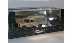 Binz W114 Europ Ambulance 1969, 1:43, Matrix