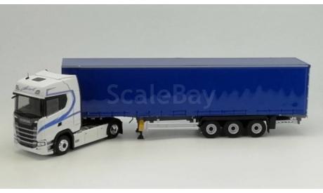Scania S500 c полуприцепом Biolo, 1:43, Eligor, масштабная модель, 1/43