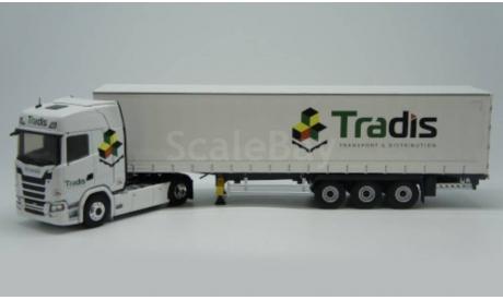 Scania S500 c полуприцепом Tradis (2020), 1:43, Eligor, масштабная модель, 1/43