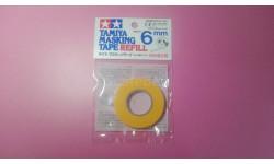 Tamiya masking tape 6mm тамия маскирующая лента 6 мм, инструменты для моделизма, расходные материалы для моделизма