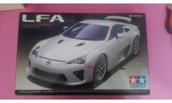 Lexus lfa, сборная модель автомобиля, Tamiya, scale24