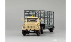 ГАЗ 52-06 тягач 'Мосовощтранс' и полуприцеп-таровоз ДИП DIP, масштабная модель, DiP Models, 1:43, 1/43