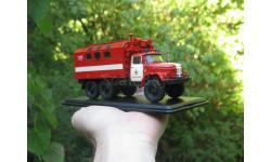 ЗИЛ-131 кунг МТО-АТМ пожарный (Латвия), масштабная модель, Конверсии мастеров-одиночек, 1:43, 1/43