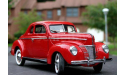 1/24 1940 Ford DeLuxe Coupe Danbury Mint
