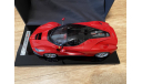 Laferrari 1:12 bbr RED, масштабная модель, scale12