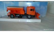 Модель 1 : 43 МАН ( 'ПЕСКОРАЗБРАСЫВАТЕЛЬ' с ОТВАЛОМ ), масштабная модель, MAN, New-Ray Toys, scale43
