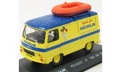 Peugeot J7 Van 'Michelin' With Boat
