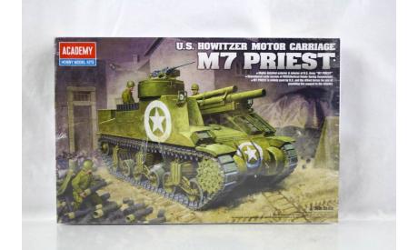 ACADEMY AC13210 M7 PRIEST U.S. HOWITZER MOTOR CARRIAGE, сборные модели бронетехники, танков, бтт, scale35