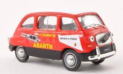 FIAT 750 MULTIPLA 'ABARTH' 1960, масштабная модель, Norev, 1:43, 1/43